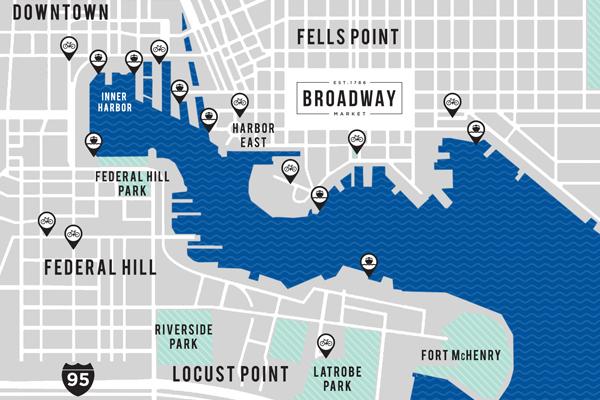 Broadway Market Map